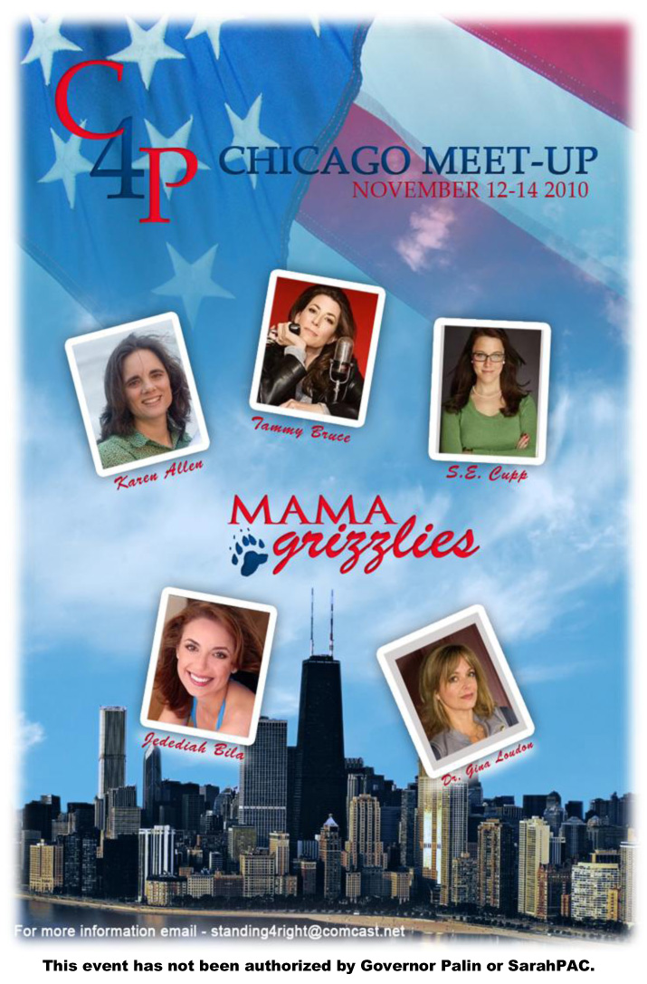 Photo of Join the Mama Grizzlies in Chicago Nov. 12th to 14th