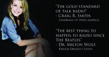 Dr. Gina Loudon, Craig Smith of Swiss America, Dr. Milton Wolf