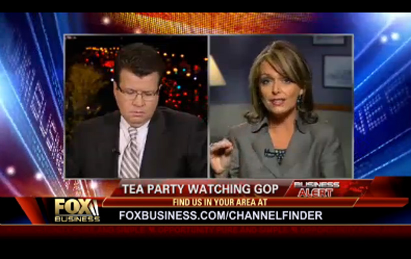 Photo of Dr. Gina on Neil Cavuto