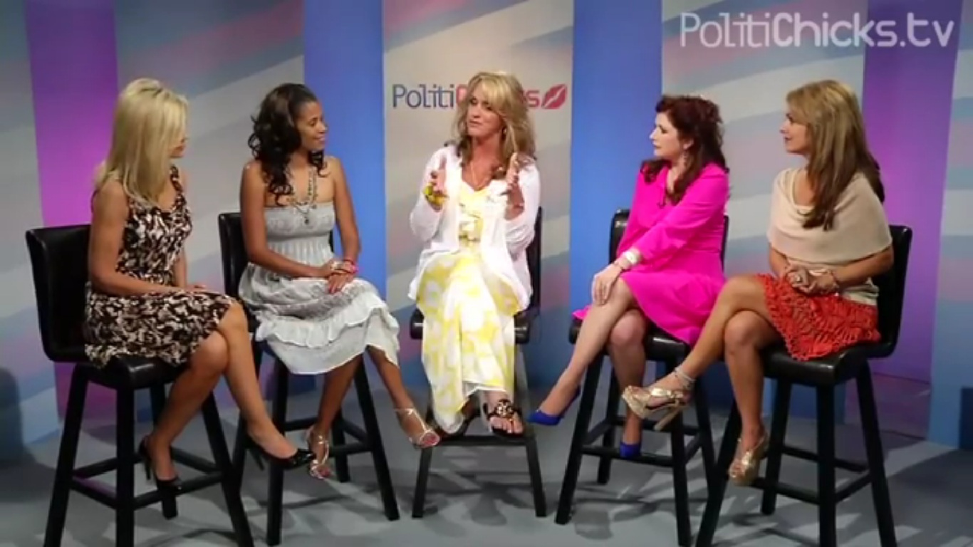 Photo of Dr. Gina Loudon Hosting the Latest Episode of PolitiChicks with Guest, Scottie Nell Hughes