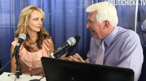 Photo of Dr. Gina interviews Sharon Angle and Bryan Fischer