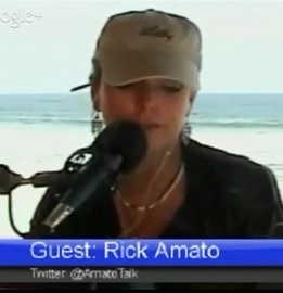 Photo of Rick Amato and Dr. Gina on the Obama Scandal of the Day