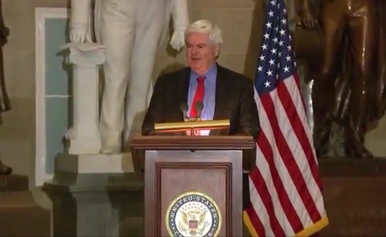 Photo of Newt Gingrich at Washington, A Man of Prayer 2013