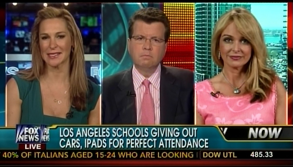 Photo of Rewarding HS students with cars? Dr. Gina on Fox News says it's ridiculous!