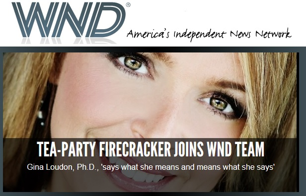 Photo of WND Announces Dr. Gina as Their Newest Columnist!