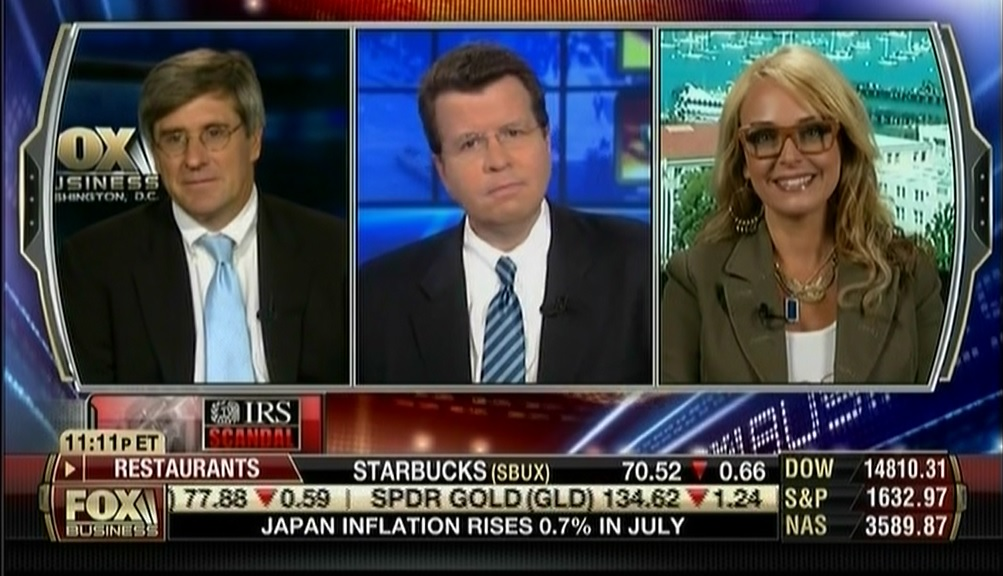 Photo of Dr. Gina on Fox Biz calls out the GOP for working with the Dems to supress patriot groups