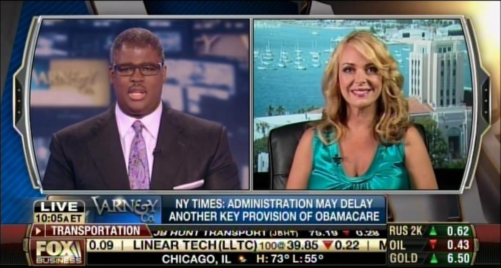 Photo of Derail & Defund Obamacare! Dr. Gina joins Charles Payne on Fox Biz's Varney & Co.