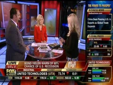 "Photo of Dr. Gina Loudon on Fox Business on ""The Willis Report"""
