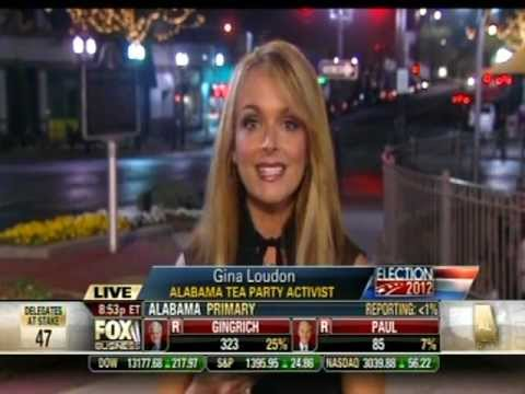 Photo of Dr. Gina on Fox Business Channel with Neil Cavuto on Election Day in Alabama
