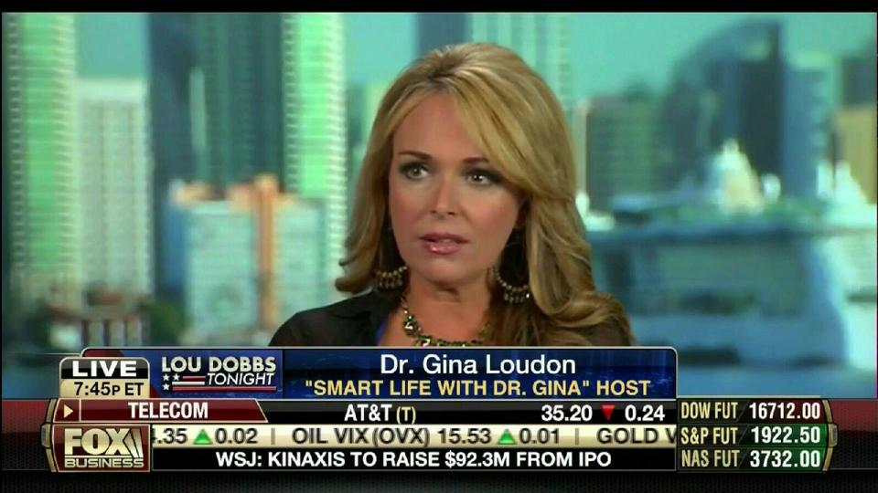 Photo of Dr. Gina Questions Mental Stability of President Obama on Fox Biz