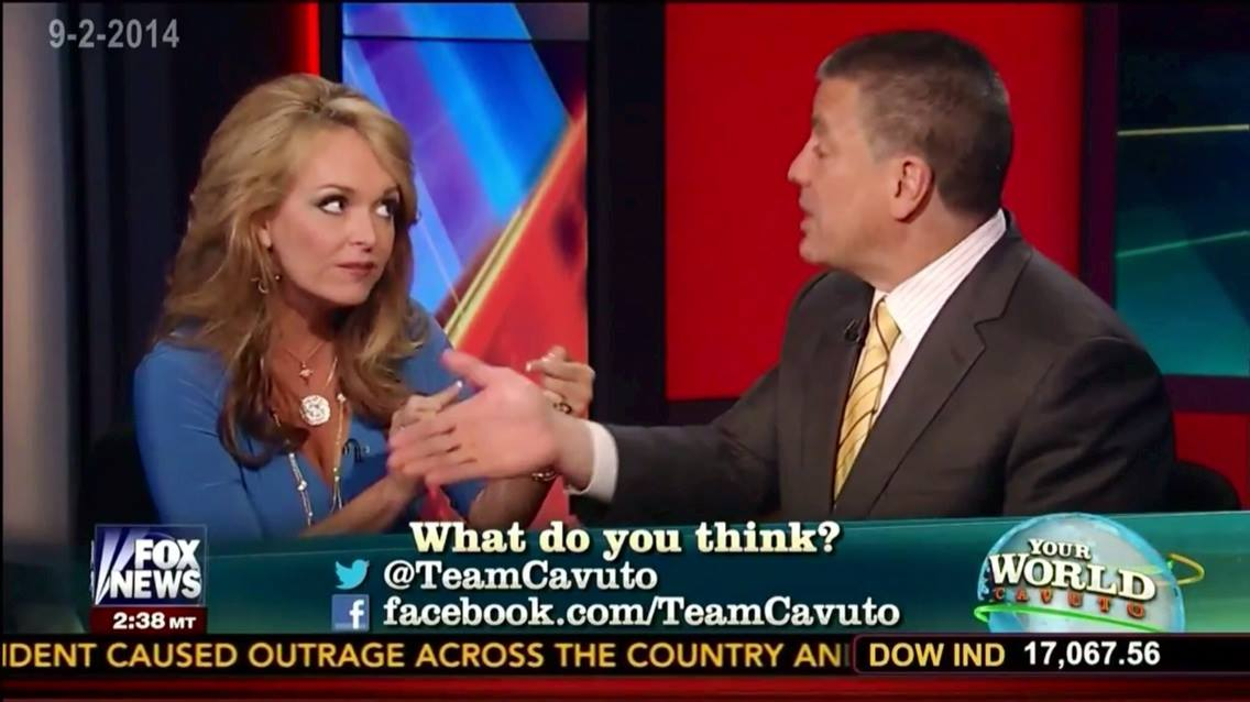 Photo of Dr. Gina & Charlie Gasparino Nearly Come To Blows on Fox News