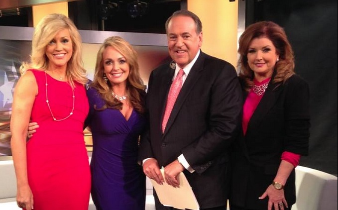 Photo of Dr. Gina & the Politichicks on Huckabee