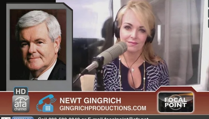 Photo of Dr. Gina Talks Politics with Newt Gingrich