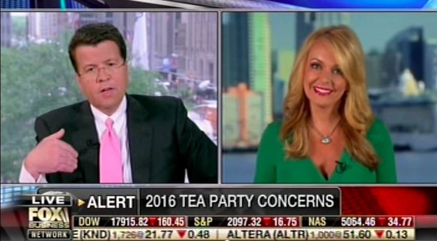Photo of Dr. Gina & Neil Cavuto on the latest GOP contenders