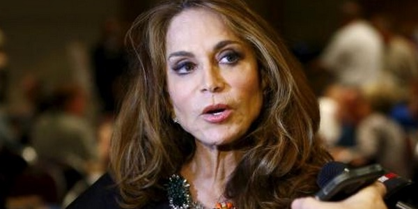 "Photo of Pamela Geller says ""You're Next!"""