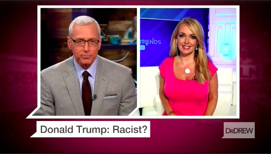 Photo of Dr. Gina defends Trump on Dr. Drew & finds Trump's biggest fan