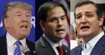 Trump Cruz Rubio
