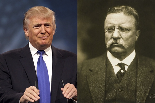 Photo of Trump is not Reagan, he's Teddy Roosevelt