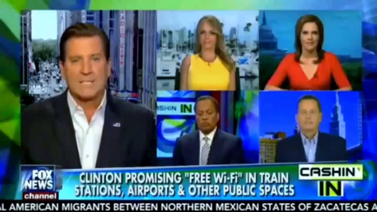 Photo of Hillary Promises Free WIFI