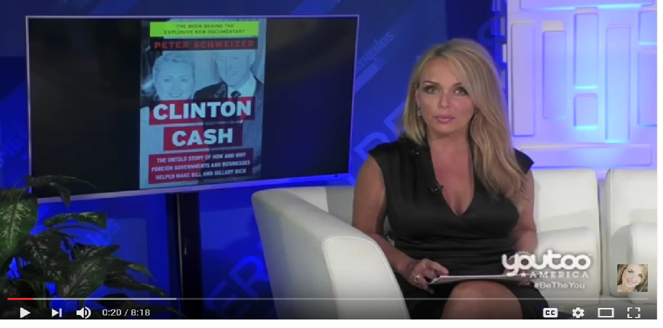 Photo of Peter Schweizer exposes how Hillary makes #ClintonCash