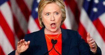 Hillary Yells
