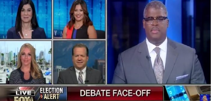 What do viewers respond to when watching a debate?
