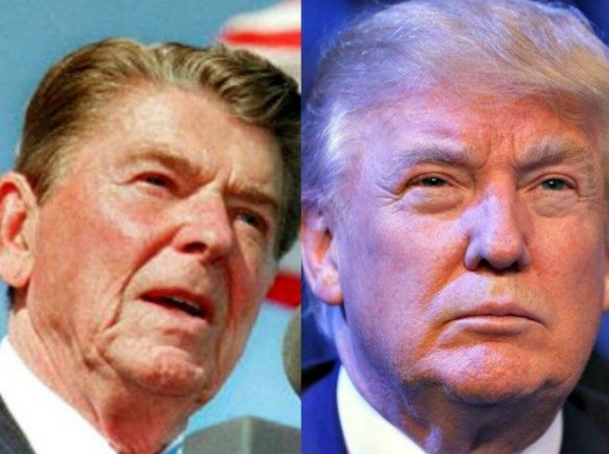 Photo of THE OUTSIDERS: TRUMP AND REAGAN
