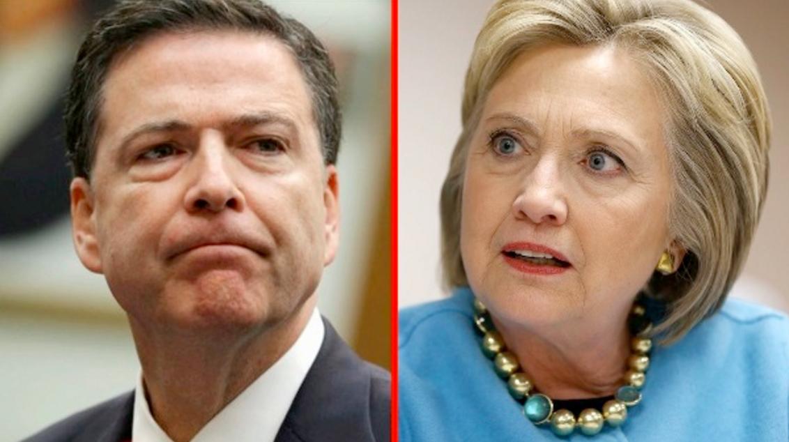 Photo of Comey Confirms Clinton Corruption