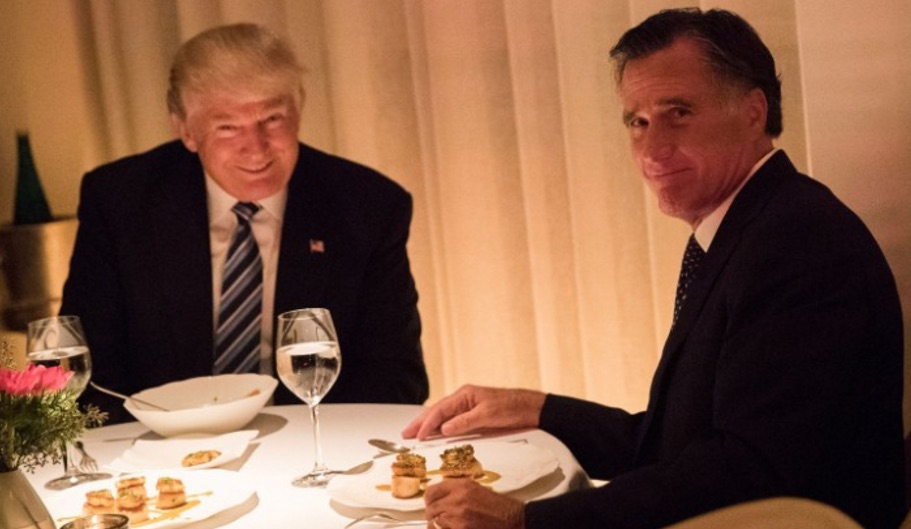 Photo of Why Trump REALLY met with Romney