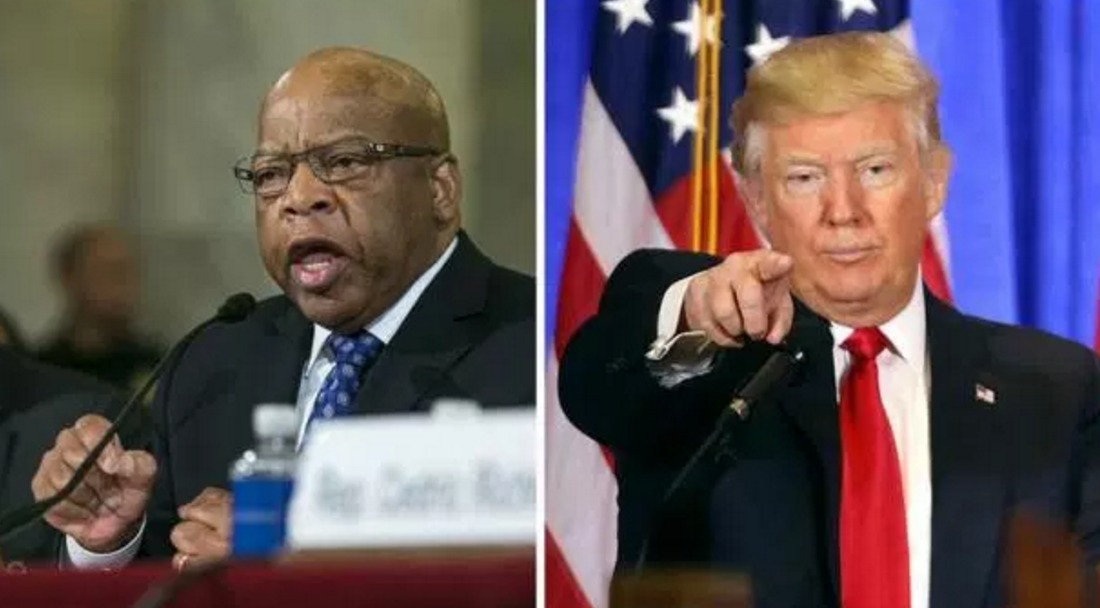 Photo of Rep. John Lewis got 1 thing right