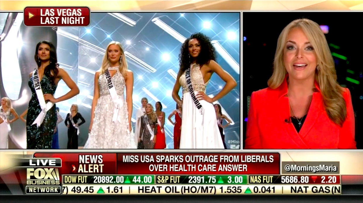Photo of Dr. Gina comments on Miss USA's surprising statements
