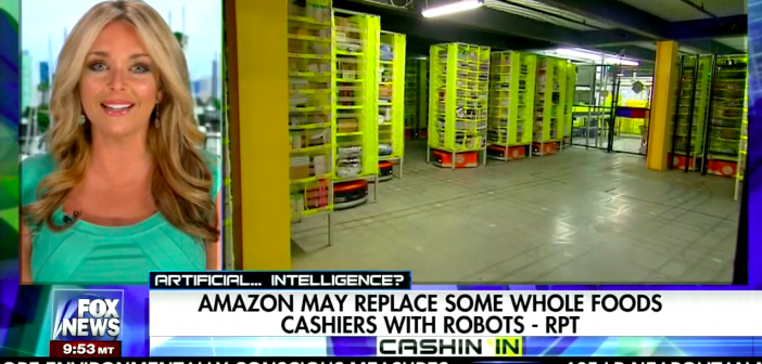 Amazon may replace Whole Foods Cashiers with robots!