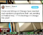 President Trump Sends In Feds to Save Chicago
