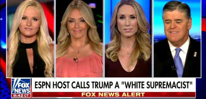 ESPN anchor calls President Trump a white supremacist