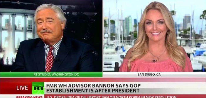 Steve Bannon now targeting RINO GOP Senators