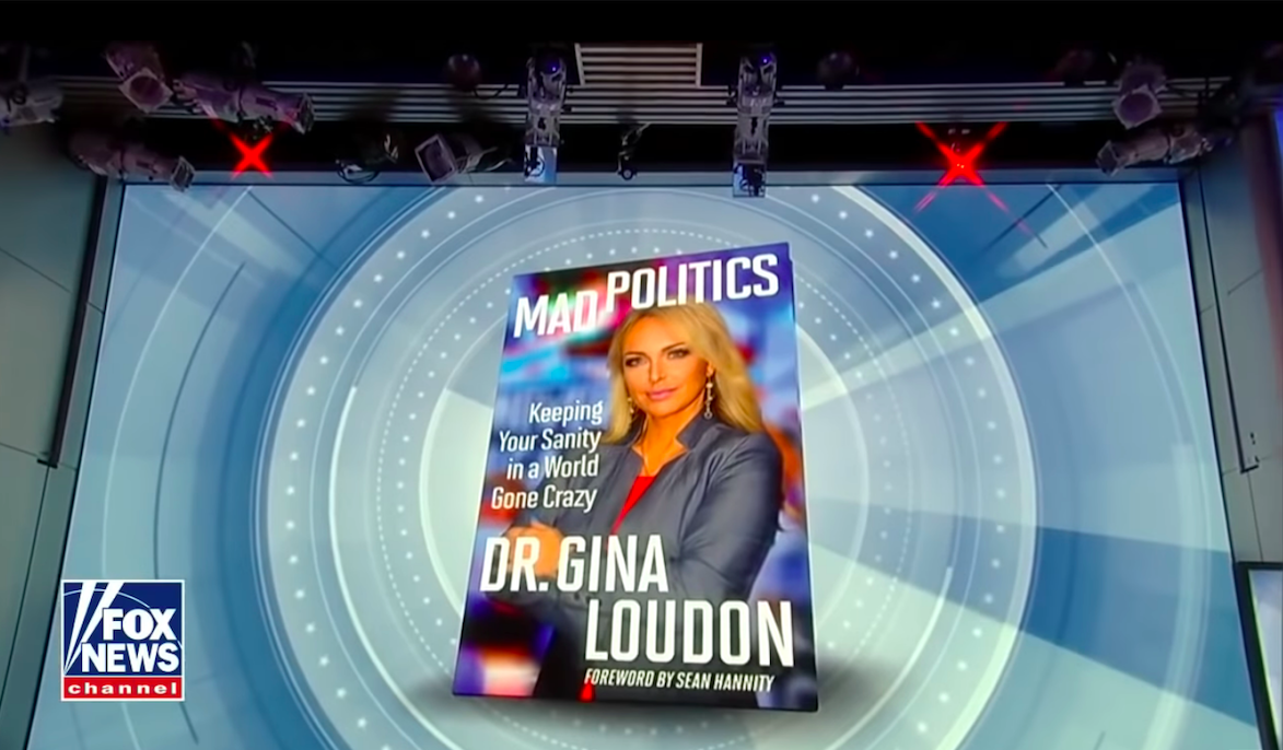 Photo of Get Dr. Gina's new book: Mad Politics!