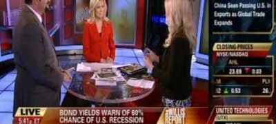 "Dr. Gina Loudon on Fox Business on ""The Willis Report"""