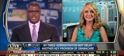 Derail & Defund Obamacare! Dr. Gina joins Charles Payne on Fox Biz's Varney & Co.